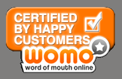 Certified by Happy Customers