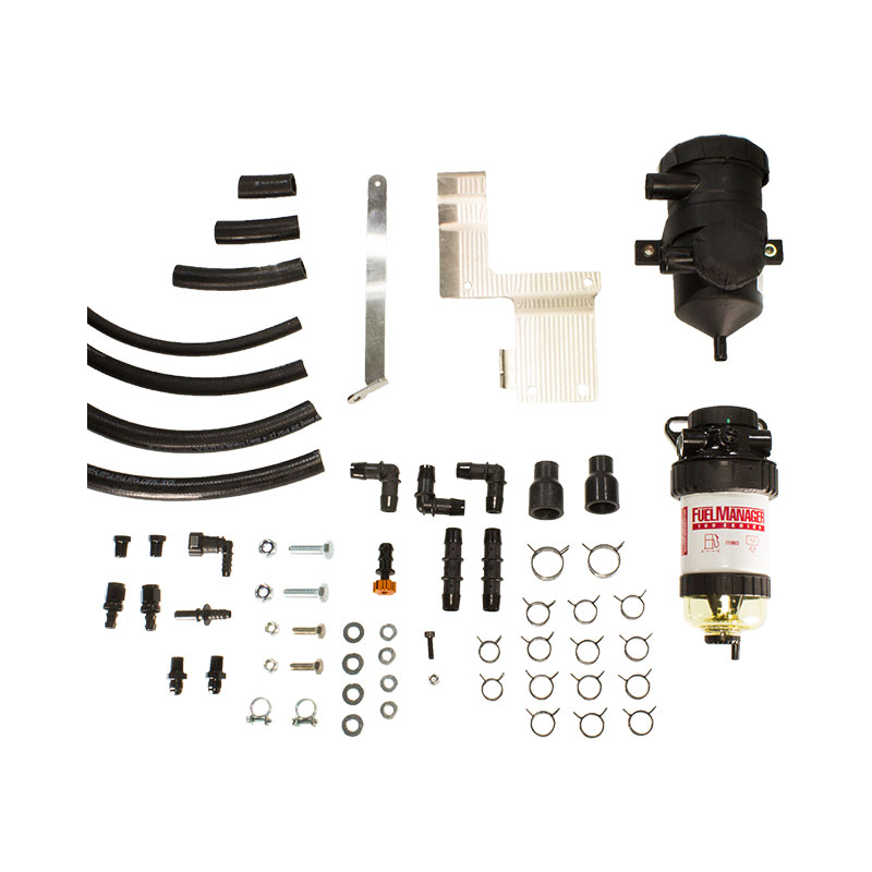 NISSAN NAVARA NP300 DIRECTION PLUS DIESEL PRE-FILTER / PROVENT DUAL KIT FMPV630DPK
