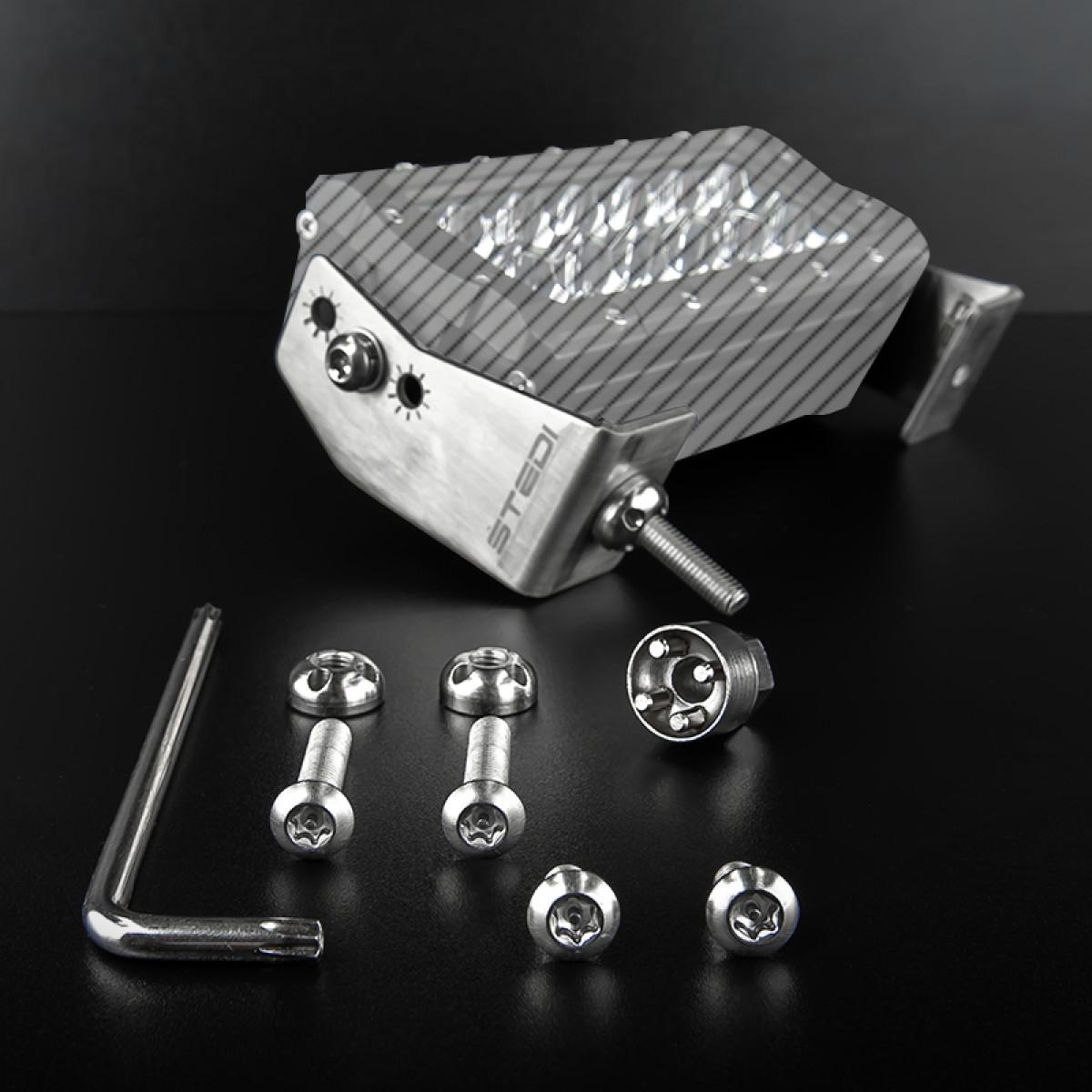 ANTI THEFT KIT FOR THE ST4K & ST3301 LED LIGHT BAR – SIDE BRACKET