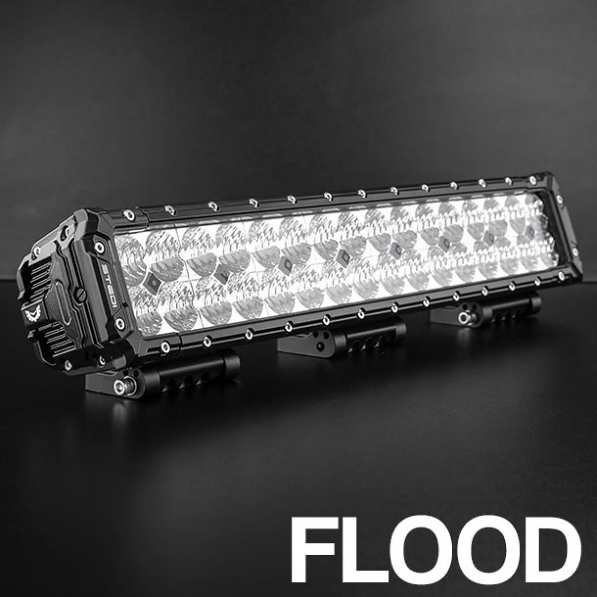 ST3303 21.5 INCH 32 FLOOD LED DOUBLE ROW ULTRA HIGH OUTPUT LED BAR