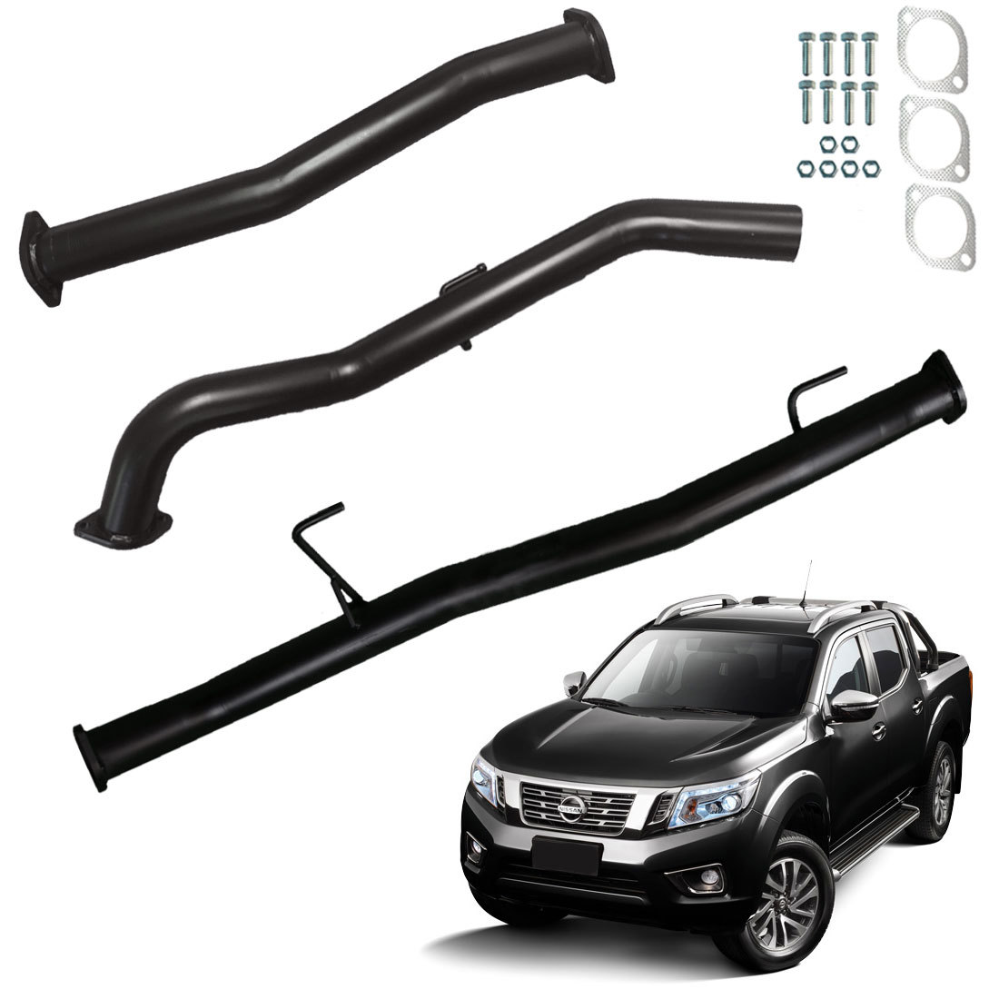 Nissan NP300 DPF Back 2015 To Current 3″ Exhaust