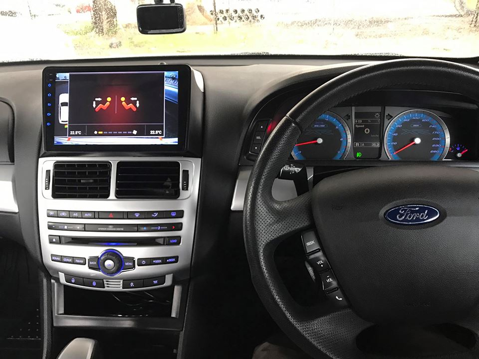 FG Ford Falcon Headunit, Satnav, GPS, DVD ICC unit