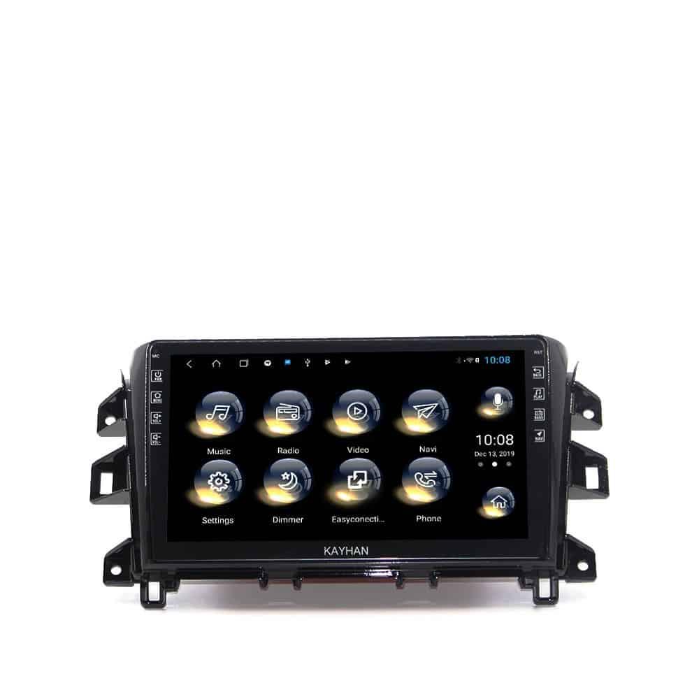 Nissan NP300 Headunit GPS, DVD