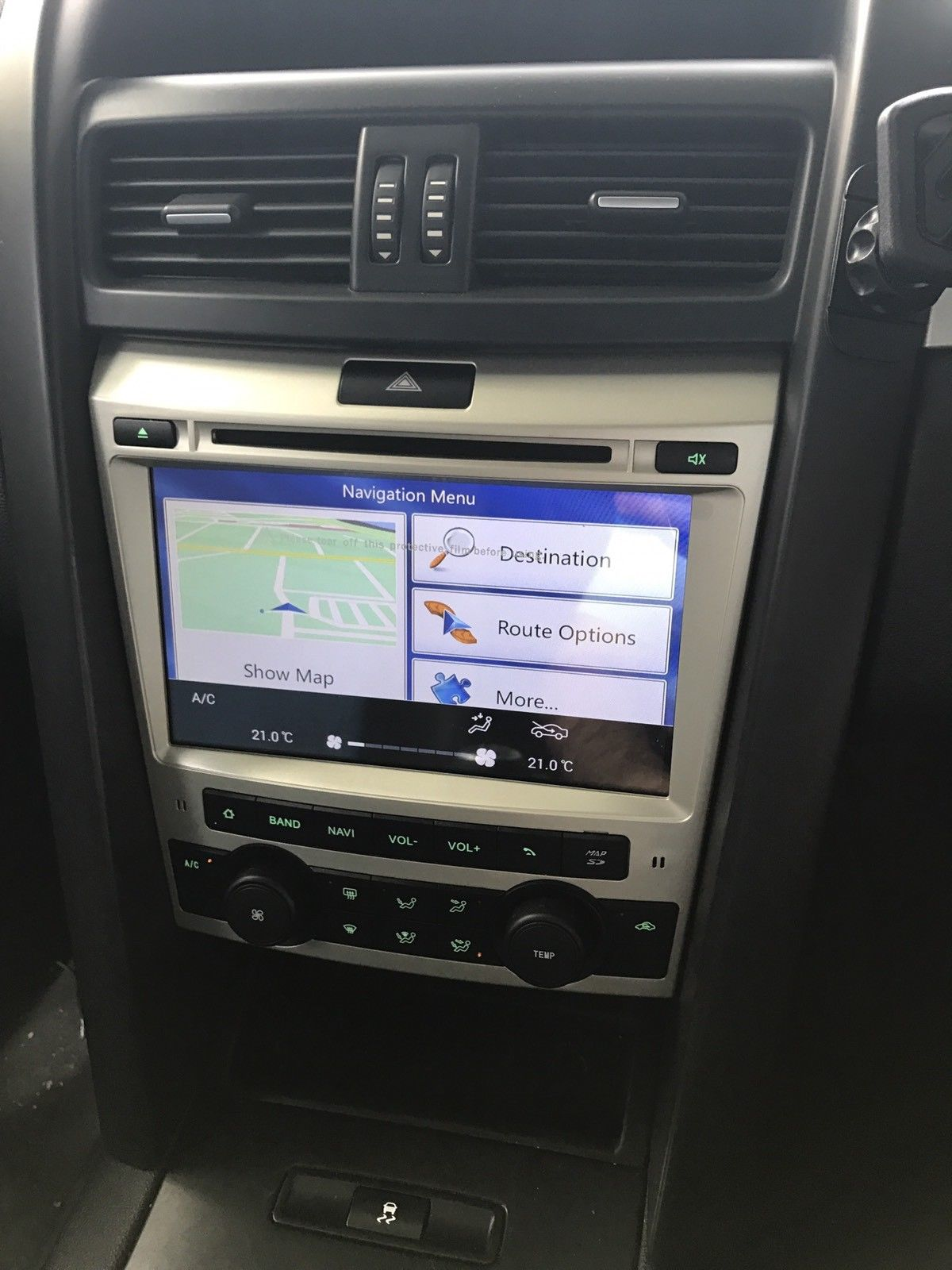 Holden VE Commodore Headunit