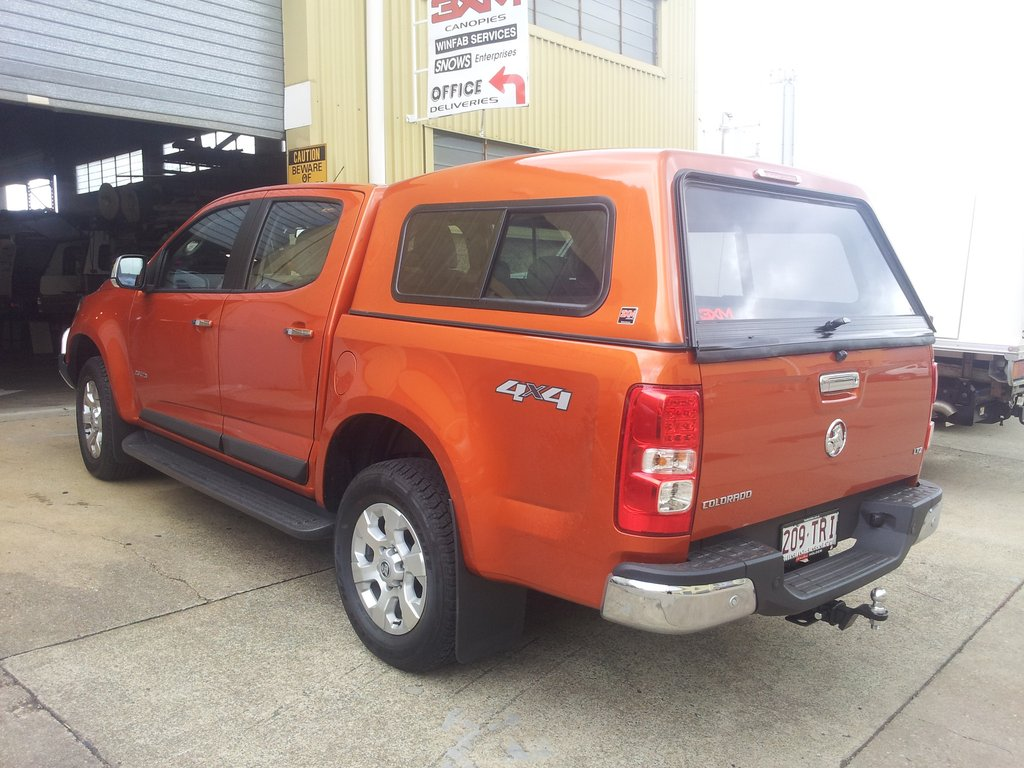 DELUXE SMOOTH CANOPY TO SUIT HOLDEN COLORADO / ISUZU DMAX DUAL CAB 2012 To Current