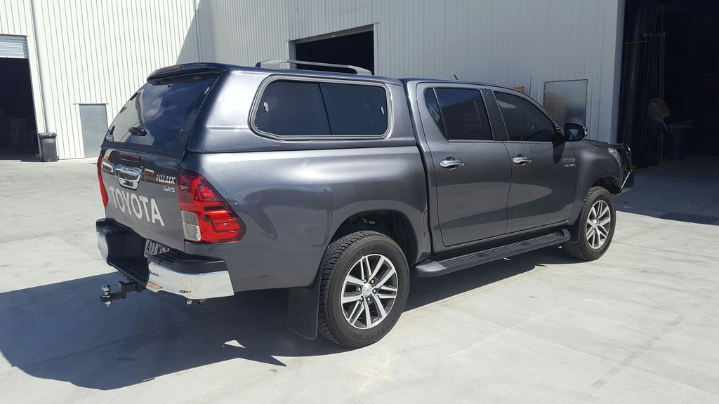 ELITE SMOOTH CANOPY TO SUIT TOYOTA HILUX DUAL CAB 2015+ A DECK/SR5 MODEL