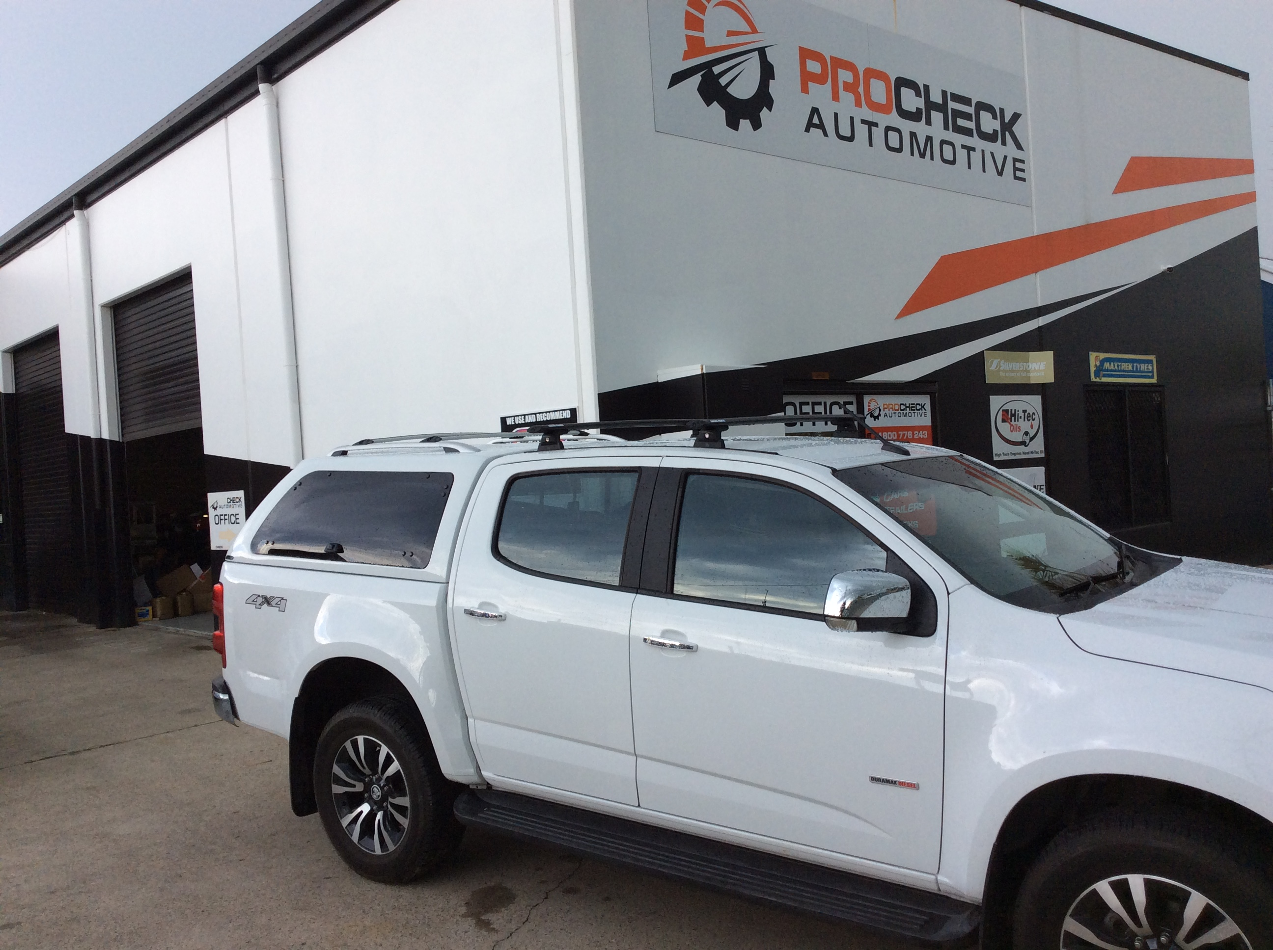 PREMIUM SMOOTH CANOPY TO SUIT HOLDEN COLORADO / ISUZU DMAX DUAL CAB 2012 To Current